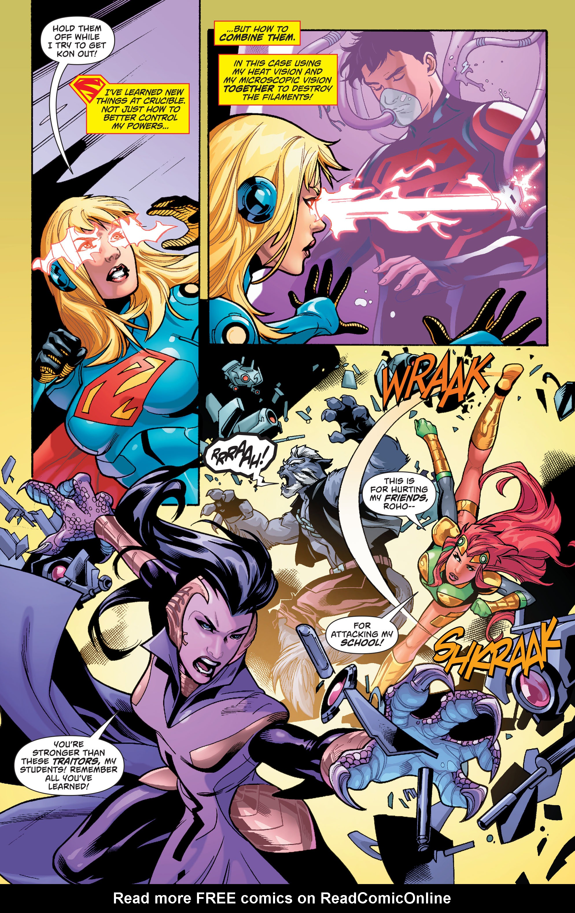 Supergirl (2011) Issue #40 #42 - English 6