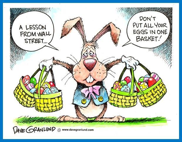 Смысл пословицы не клади все яйца в одну корзину