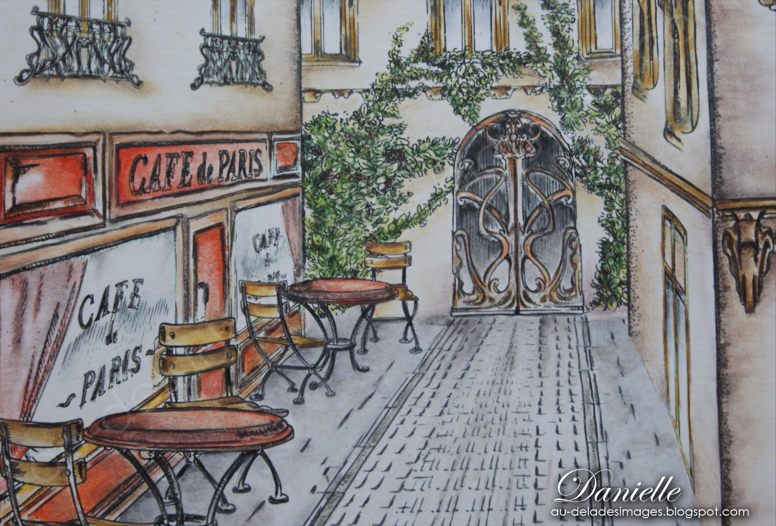 Welcome Caf Ef Bf Bd Paris