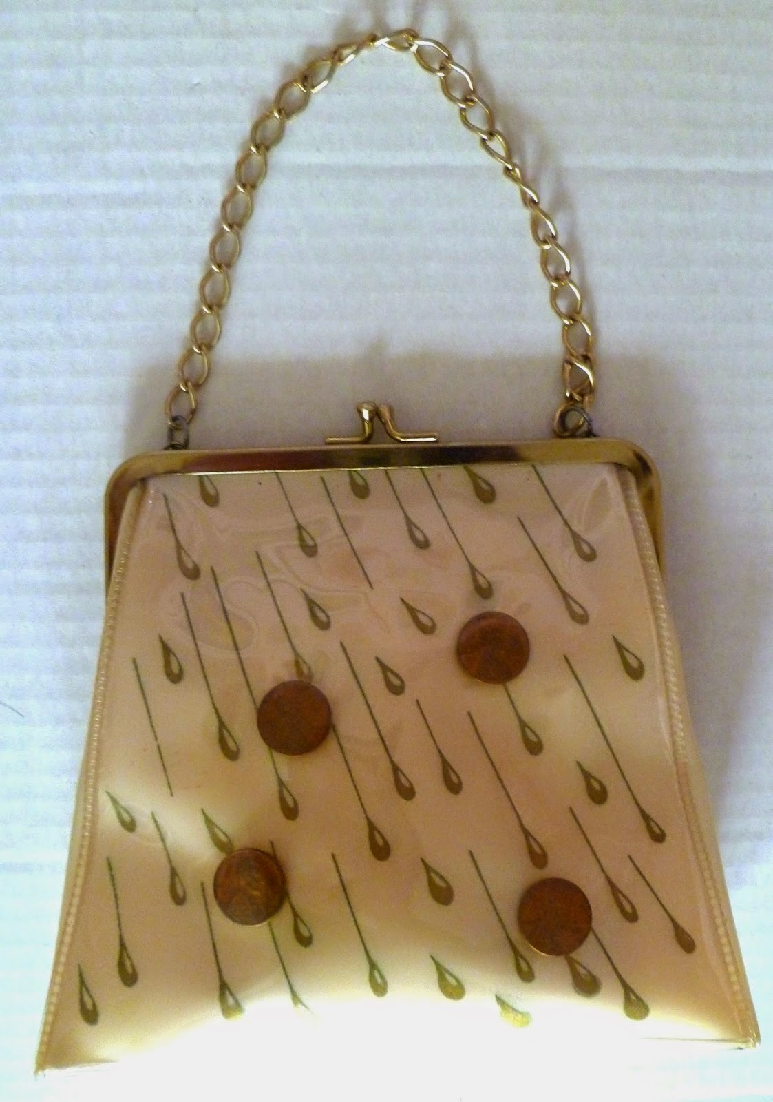 Raining pennies bag - Vintage Purse Gallery - Hello, Handbag