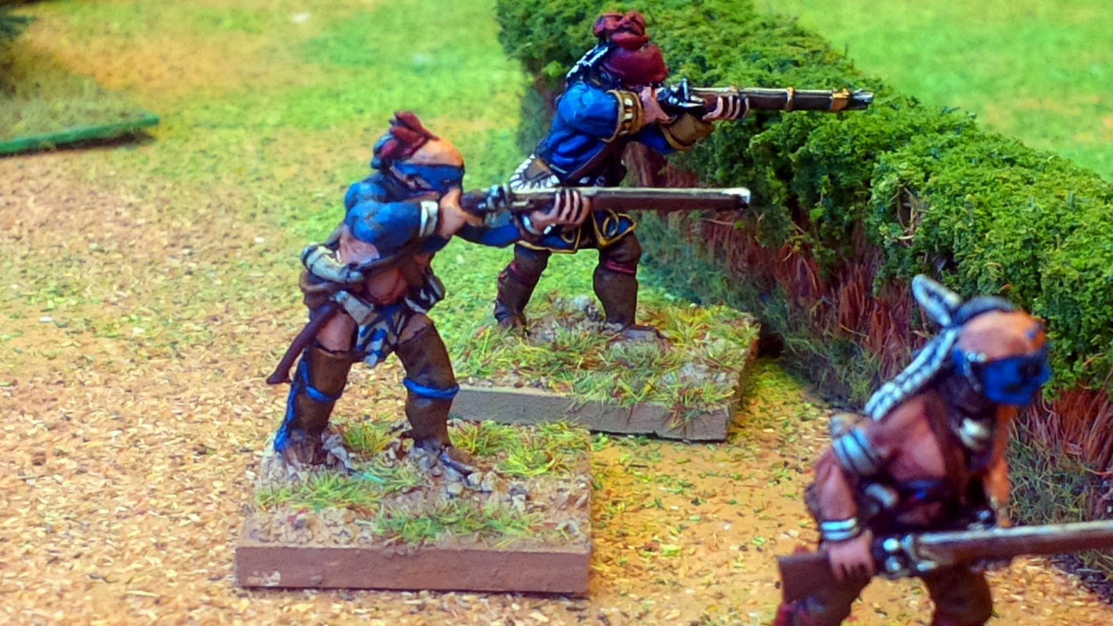 an in depth look at the french and indian wars 28mm figures wargames figures minis 28mm woodland indians mohawk huron  abenaki ottowa french & indian war old west western gunfight skirmish.