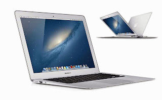 merupakan ultrabook portable dengan waktu pakai mencapai  Apple MacBook Air - Mid 2013