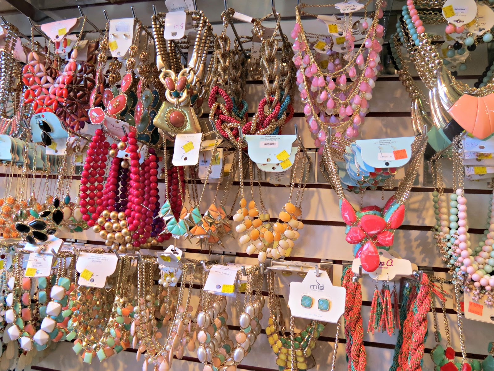Wholesale Fashion Jewelry District Los Angeles