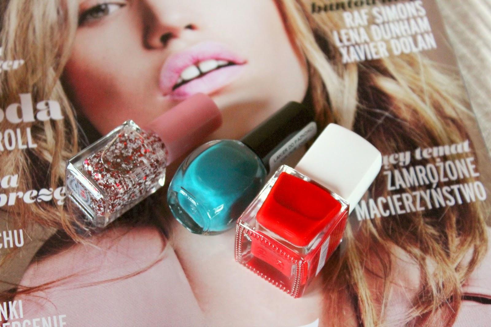 Świąteczny  manicure  My Secret #119, Colour Chic #17, Ushine #16