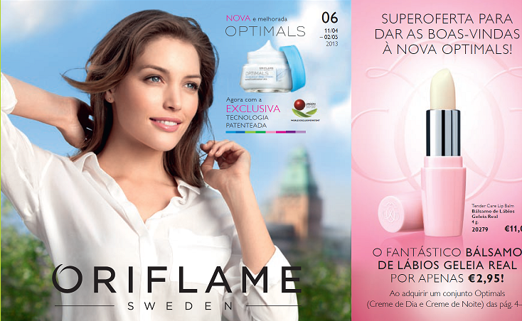 oferta do catalogo oriflame nº 6