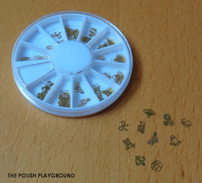 Lady Queen Gold Metal Decoration Nail Art Wheel Review