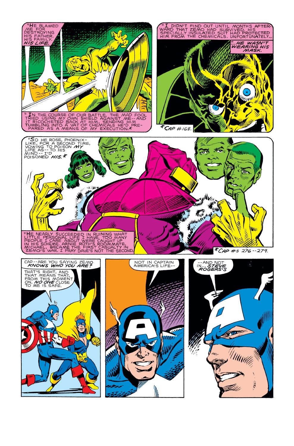 Captain America (1968) Issue #294 #222 - English 14