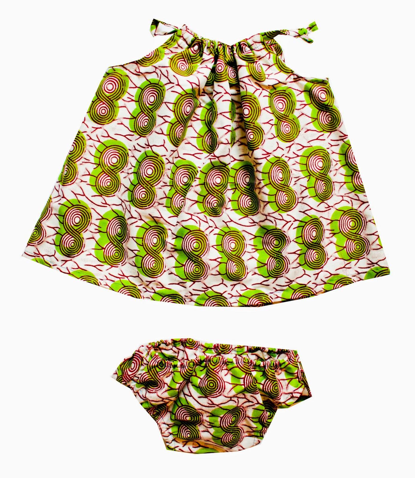 vestido bebé hecho a mano