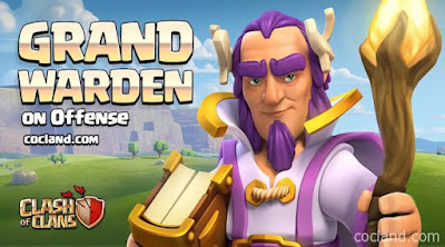 Grand Warden, Karakter Terbaru Clash of Clans