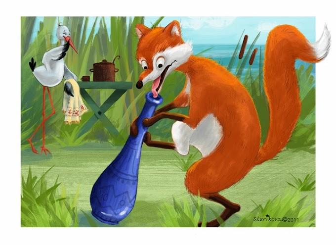La volpe e la gru