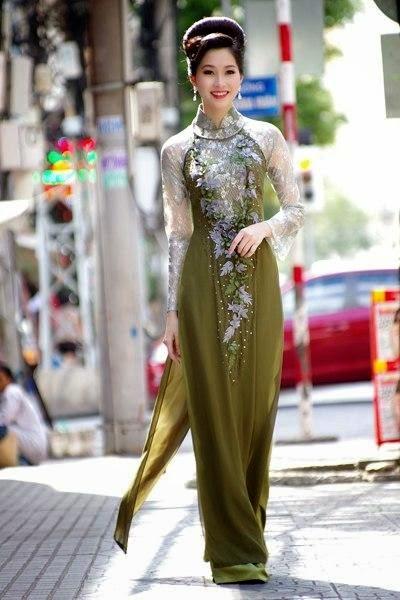 Ảnh gái đẹp diệu dàng trong tà áo dài 11