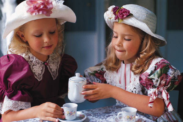 little girls tea party