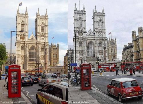 gereja terkenal di london inggris westminster abbey tempat royal wedding