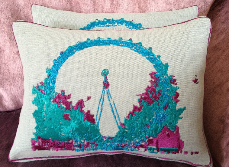 Artistic Embroidered Throws