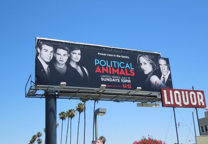 Political Animals billboard