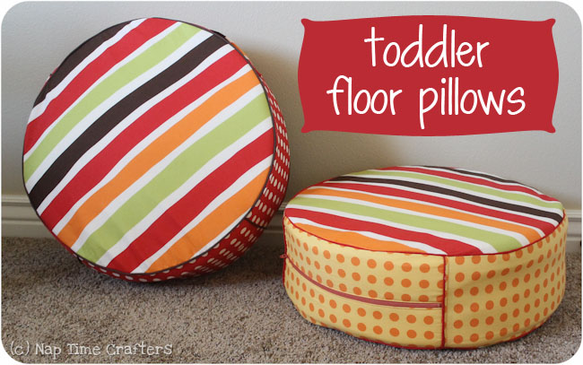 Tutorial: Toddler Floor Pillows - Peek-a-Boo Pages - Patterns ...