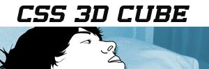 Experiment CSS 3D Cubes