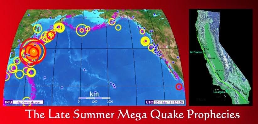 mega quakes