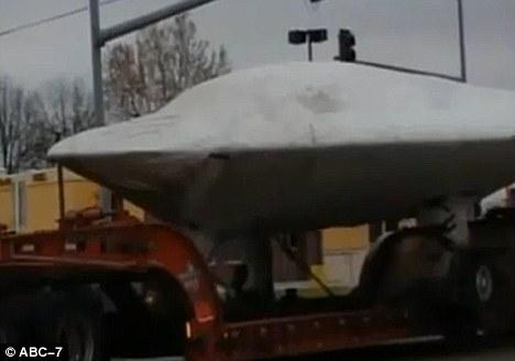 UFO kansas truk