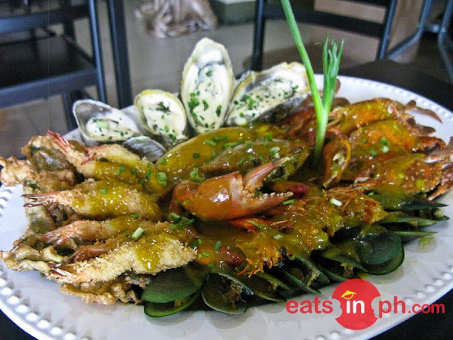 Seafoods Fiesta from Bistro Maloleño