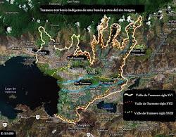 Turmero Territorio indígena de una banda y otra del río Aragua