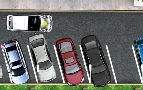 Araba Otoparka Park Etme Oyunu