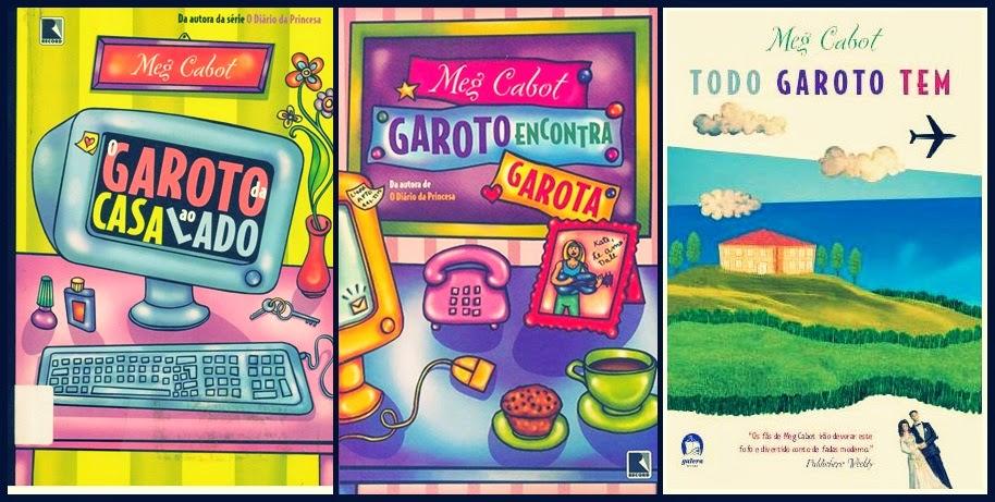 Trilogia Garoto - Meg Cabot