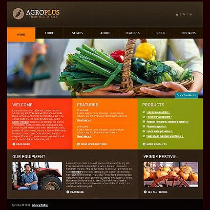 thiết kế web nông nghiệp giá rẻ