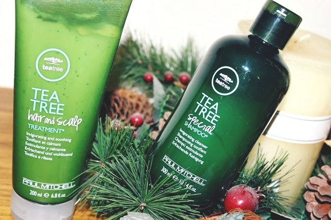 Paul Mitchell (teatree hair line): Tea Tree Special shampoo and Tea Tree hair and sculp treatment