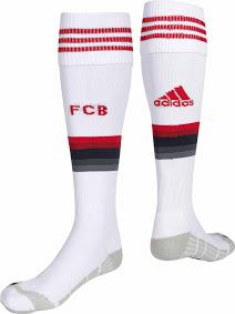 gambar desain jersey musim depan kualitas grade ori kaos kaki ready Kaos kaki Bayern Munchen away Official terbaru musim depan 2015/2016