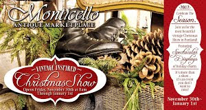 Monticello Christmas Show~ November 30 - January 1