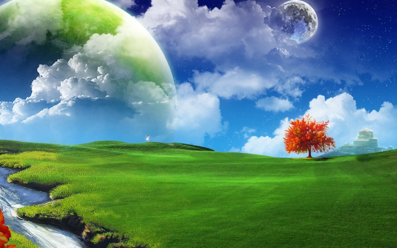 3D Nature Wallpaper for Desktop Free Download