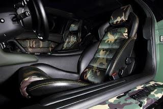 2011 Lamborghini Murcielago Interior