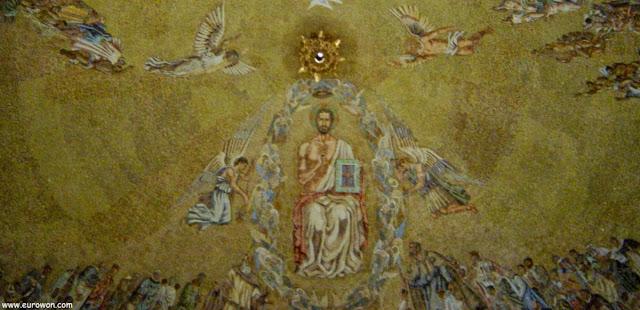 Decoración de la bóveda de la Basílica de la Santa Cruz del Valle de los Caídos