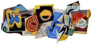 Juan Gris - Google Doodle