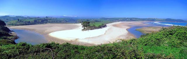 Playas de La Rabia y Oyambre