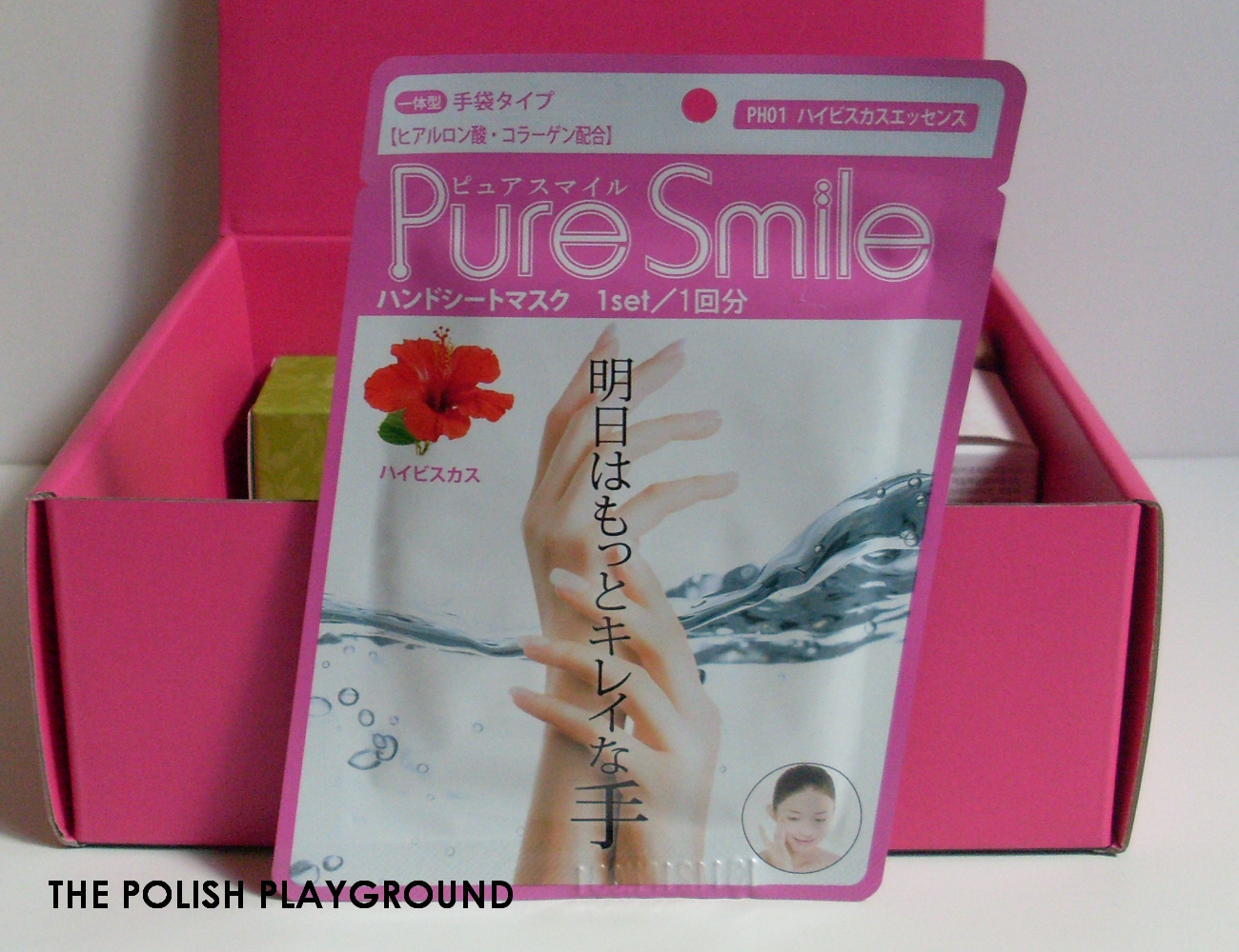 Memebox Superbox #76 While You Were Sleeping Unboxing - Pure Smile Potion Pack Hand in Hibiscus