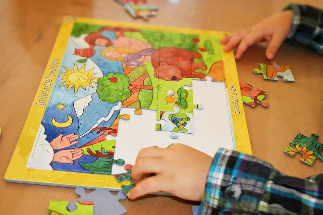 biblické puzzle