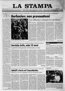 LA STAMPA 20 LUGLIO 1989