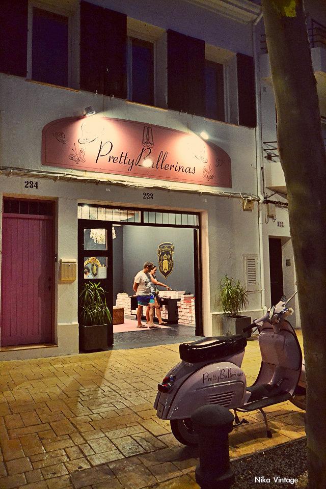 tienda, shop, pretty ballerinas, Ursula Mascaró, puerto de Mahon