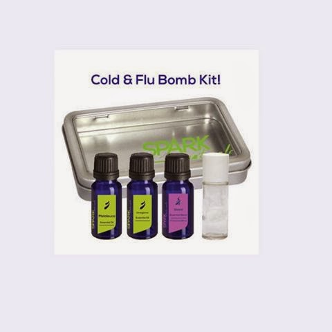 Cold and Flu Bomb Kit