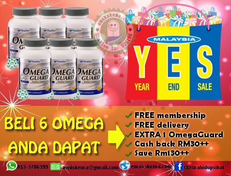 YEAR END SALE, YES 2013, PROMOSI, OMEGAGUARD