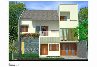 loegoe design architect: rumah modern tropis @ tanah baru