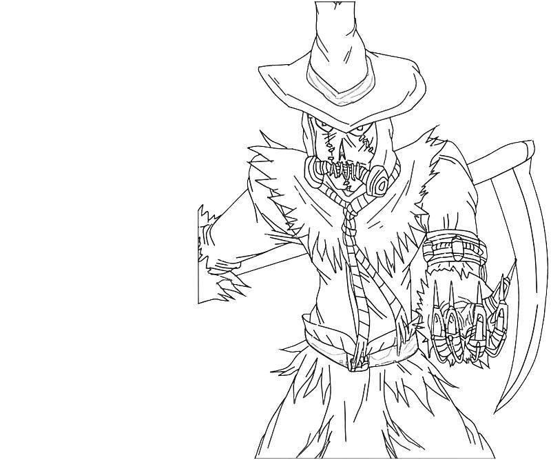 Scarecrow ability lowland seed for Coloring pages scarecrow