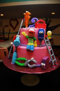 Perfect Handy Manny Birthday Cake