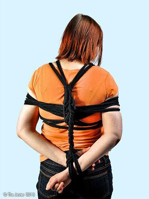Vorsichtige Versuche mit weichem Seil