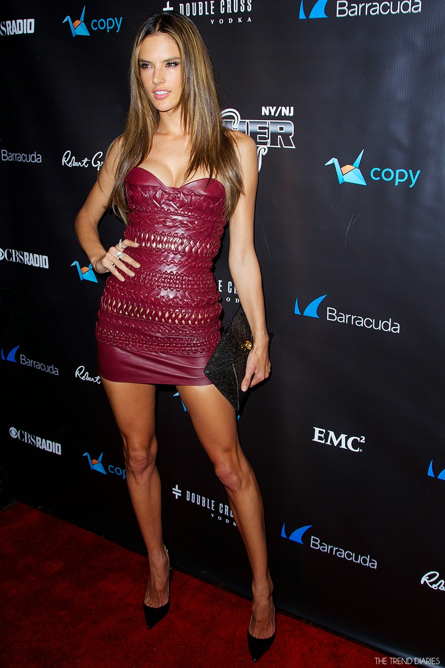 Alessandra Ambrosio At The 11th Annual Leather And Laces