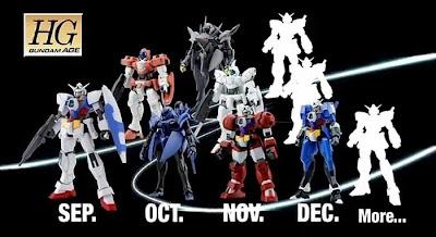 Gundam AGE HG 1/144 Series PV