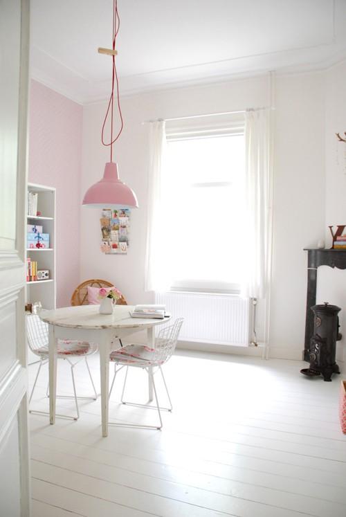 decoracao cozinha fofa : decoracao cozinha fofa:Cozinha fofa e romântica em rosa e azul