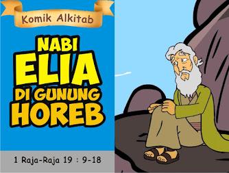 Nabi Elia di Gunung Horeb